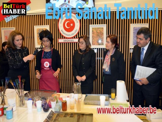 Ebru sanatı tanıtıldı