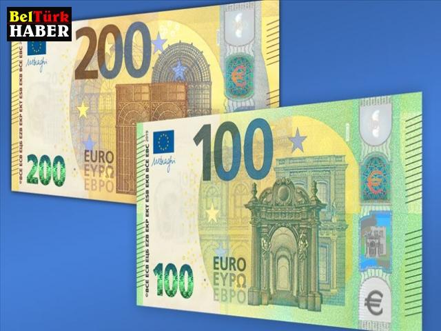 Yeni 100 ve 200 avroluk banknotlar tedavülde