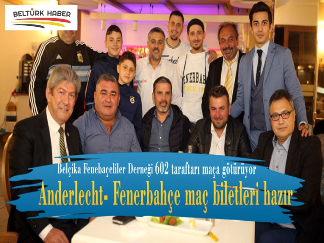 Anderlecht- Fenerbahçe maç biletleri hazır