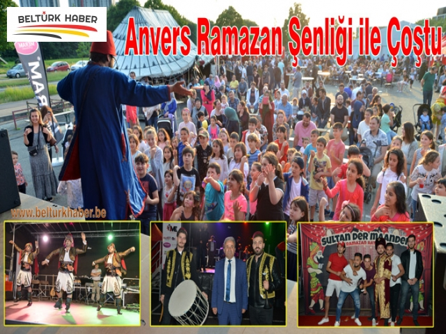 Anvers Ramazan Şenliği ile Çoştu