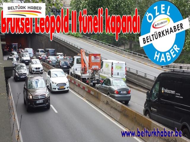 Brüksel Leopold II tüneli kapandı