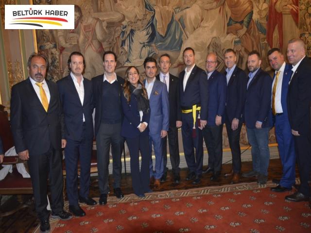 Brüksel'de başkan Ali Koç onuruna Resepsiyon verildi