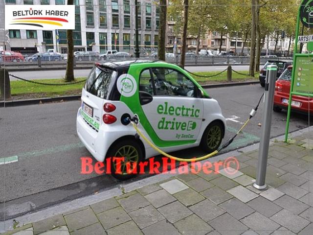 Brüksel'de kiralık Elektrikli otomobil