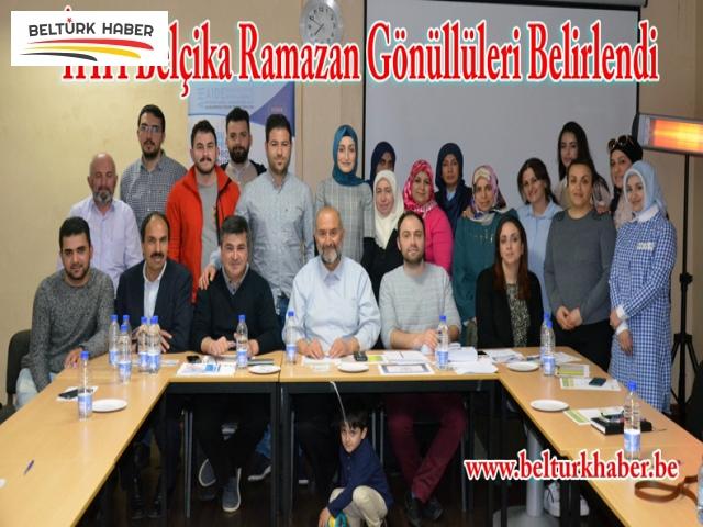 İHH Belçika Ramazan Gönüllüleri Belirlendi