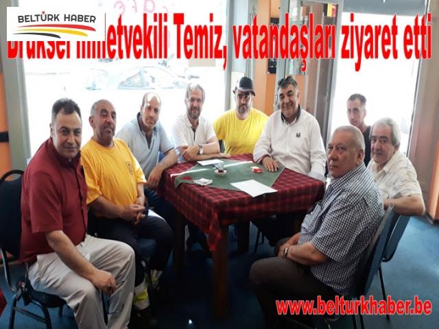 Milletvekili Temiz, vatandaşları ziyaret etti