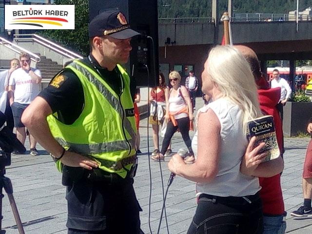 Norveç'te Kur'an-ı Kerim provakasyonu