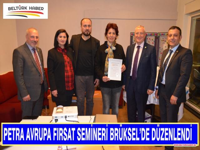PETRA Brüksel'de satış temsilcileri ile bir araya geldi