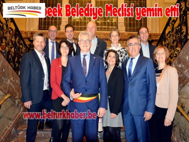 Schaerbeek Belediye Meclisi yemin etti