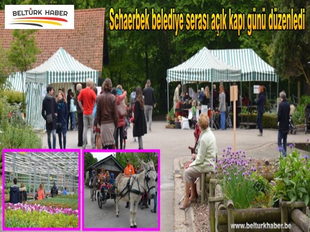 Schaerbek belediye serası açık kapı günü düzenledi