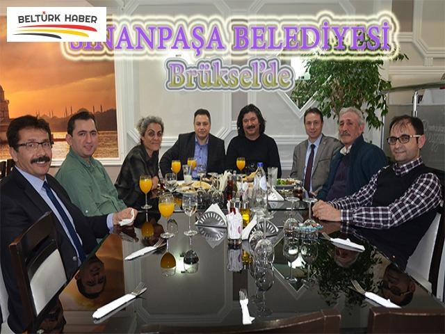 SİNANPAŞA BELEDİYESİ BRÜKSEL'DE