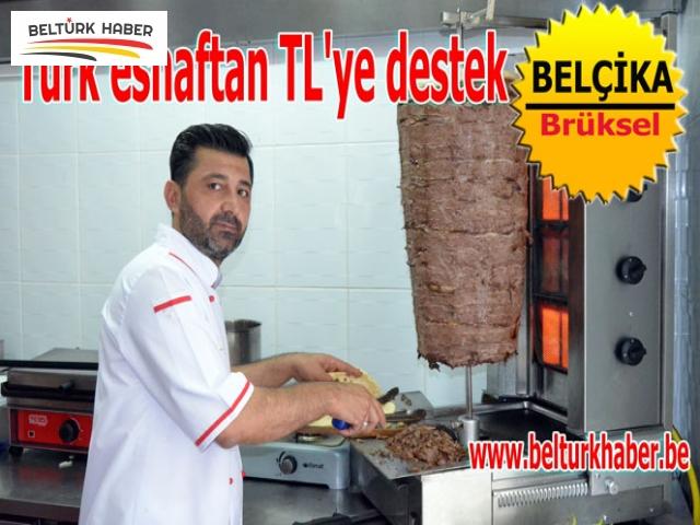 Türk Esnaftan TL'ye destek