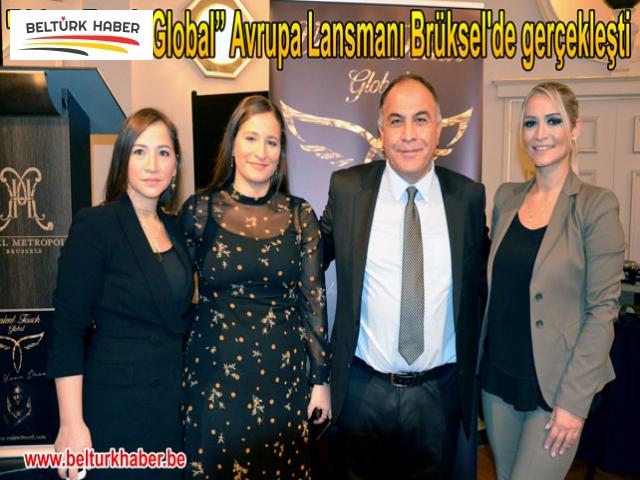 """""""Valent Touch Global"""" Avrupa Lansmanı Brüksel'de gerçekleşti"""