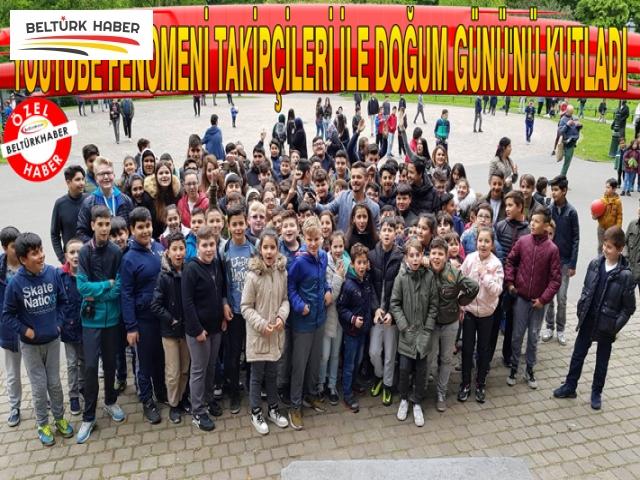 YOUTUBE FENOMENİ DOĞUM GÜNÜ'NÜ TAKİPÇİLERİ İLE KUTLADI