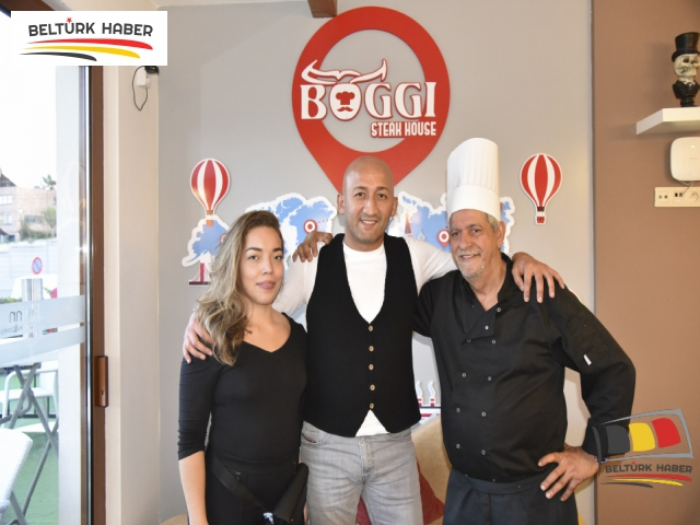 Boggi Steak House Açıldı