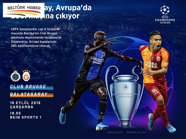 Club Brugge-Galatasaray maçına doğru