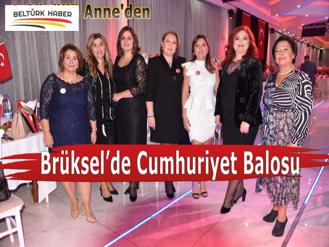 8 Gönüllü Anne'den Brüksel'de Cumhuriyet Balosu