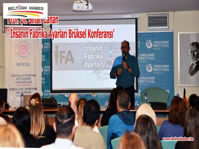 ' İnsanın Fabrika Ayarları' Brüksel konferansına yoğun ilgi