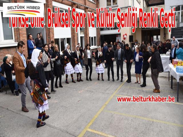 Türkse Unie Brüksel Spor ve Kültür Şenliği Renkli Geçti