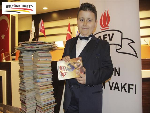 Emirdağlı 8 yaşındaki Atabey Türk 4 ayda bin 53 kitap okudu