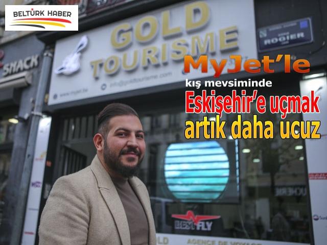 MyJet'le kış mevsiminde Eskişehir'e uçmak artık daha ucuz