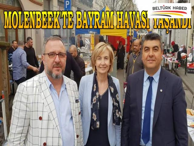 MOLENBEEK'TE BAYRAM HAVASI YAŞANDI