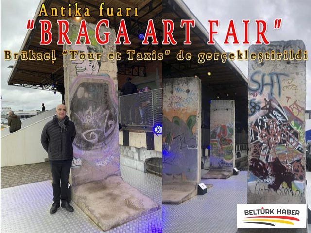 """""""BRAGA ART FAIR"""" Antika fuarı, Brüksel'de açıldı"""