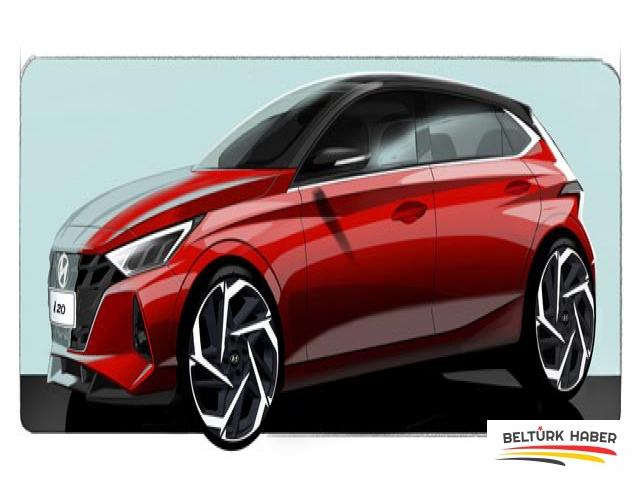 Hyundai i20 Yepyeni Bir Tasarımla Geliyor
