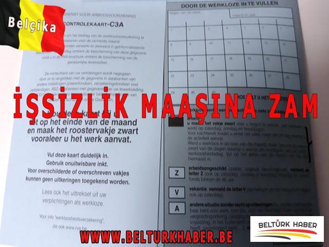 Belçika'da işsizlik maaşına zam