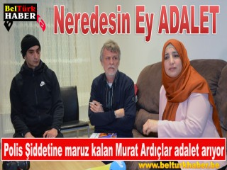 Aalst'ta Türk Gencine Polis Şiddeti