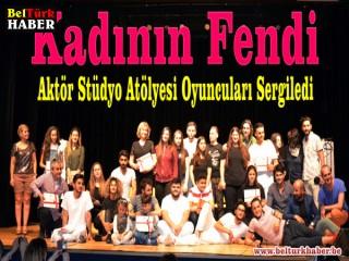 Aktör Stüdyo Atölyesi Öğrencileri Sertifikalarını Aldı