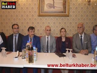 Belçika Türk Federasyon İftar yemeği verdi