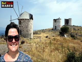 Belçikalı Sabine:Türkiye çok güzel, nefes kesici bir yer