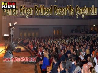 Ferhat Göçer Brüksel Bozar'da Çoşturdu