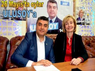 26 Mayıs'ta oylar ULUSOY'a