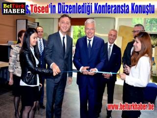 Reynders, Tösed'in Düzenlediği Konferansta Konuştu