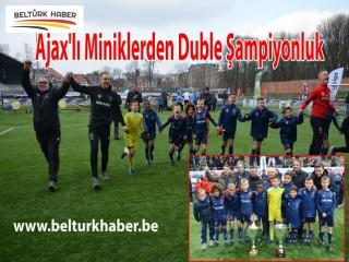 Ajax'lı Miniklerden Duble Şampiyonluk