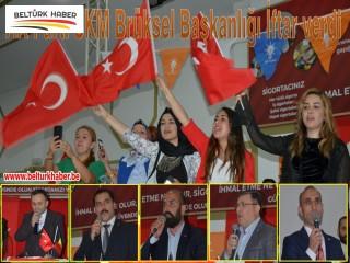 AK Parti SKM Brüksel Başkanlığı İftar verdi
