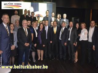 Ali Koç, yeni kongre üyelerinin rozetlerini Brüksel'de taktı