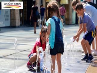Avrupa sıcak hava dalgasının etkisi altında