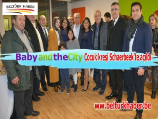 'Baby and the City' Çocuk kreşi Schaerbeek'te açıldı