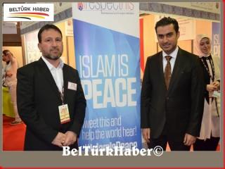 Brüksel müslüman fuarına büyük ilgi