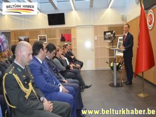 Büyük Önder Atatürk Brüksel'de anıldı