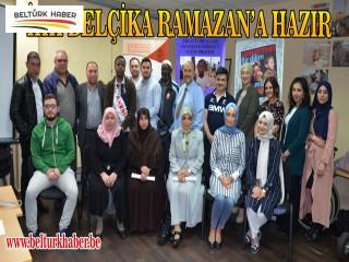 İHH BELÇİKA RAMAZAN'A HAZIR