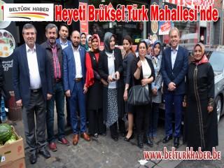 KPK Heyeti Türk Mahallesi'nde