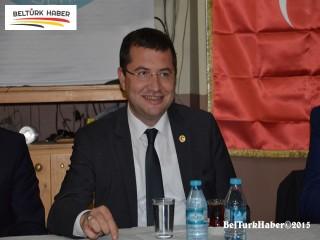 MHP'Lİ PARSAK BRÜKSEL'DE
