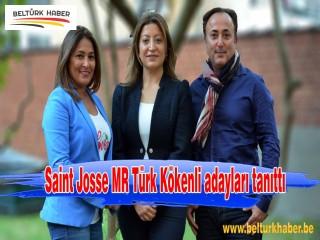 Saint Josse MR Türk Kökenli adayları tanıttı