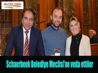 Schaerbeek Belediye Meclisi'ne veda ettiler