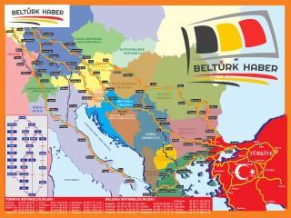 Sılayolu Haritanız BelTurkHaber'den