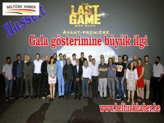 'Son Oyun' filminin Hasselt galasına büyük ilgi