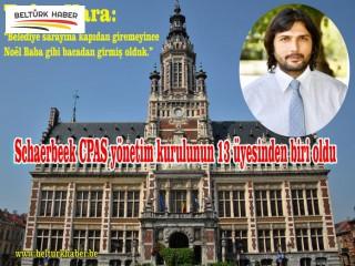 Tufan Kara,Schaerbeek CPAS Yönetim Kuruluna Seçildi